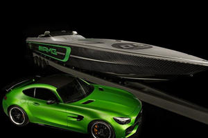 The Mercedes-AMG GT R Inspired This 3,100-HP Speedboat