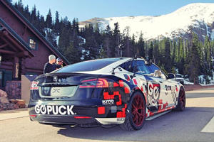 Tesla And Faraday Future Will Battle It Out At Pikes Peak This Year