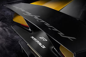 Pininfarina EF7 Shows Off Its Huge Carbon Fiber Rear Wing In New Teaser