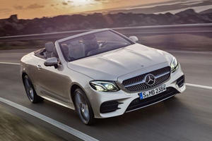 Meet The New Mercedes E-Class Cabriolet: Now With All-Wheel Drive