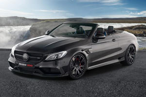 Brabus Transforms Mercedes-AMG C63 S Cabrio Into Open Top Beast