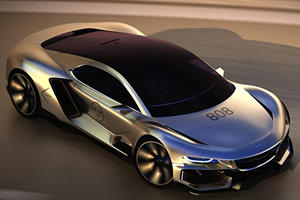 Saab Could Make A Big Comeback With The AiroX Supercar Concept
