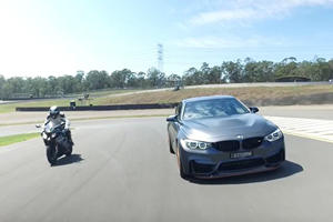 Can The BMW M4 GTS Ever Hope To Catch Up To A BMW Superbike?