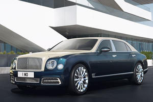 Bentley Blings Out Mulsanne With Silver And Gold Because Why Not?