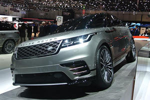 The New Range Rover Velar Is A Sleek SUV In The Metal