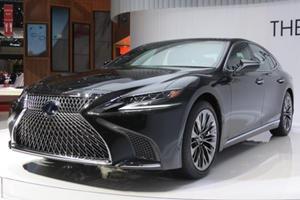 New Lexus LS 500h Flagship Hybrid Sedan Packs An Impressive 354-HP