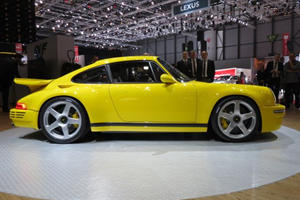 The RUF CTR Is The Undisputed Analog Supercar Star Of Geneva