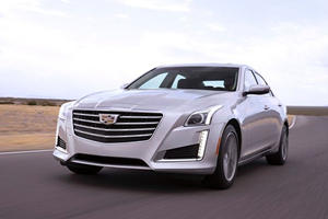 Cadillac CTS Upgraded With Vehicle To Vehicle Communication