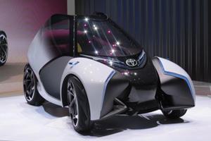 The Toyota i-TRIL Concept Aims To Revolutionize Urban Mobility