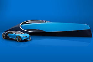 The Bugatti Chiron Has Been Transformed Into A Superyacht