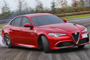 The Alfa Romeo Giulia Quadrifoglio Will Get Its Tires Tortured In Top Gear