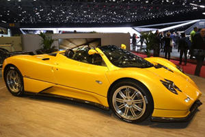 There Was A Pagani Zonda At Geneva No One Seemed To Notice