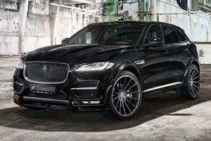 Hamann Liberates The Jaguar F-Pace With 410 HP And Sharp New Bodykit