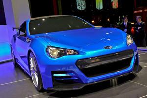 LA 2011: Subaru BRZ Concept STI