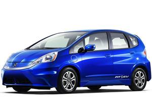 LA 2011: The All-New 2013 Honda Fit EV