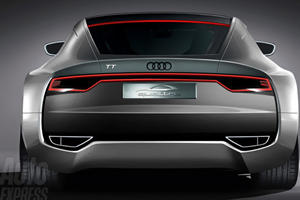 Audi TT Concept En Route to Tokyo Motor Show?