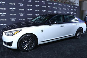 Genesis G90 Special Edition Takes Center Stage In Seoul
