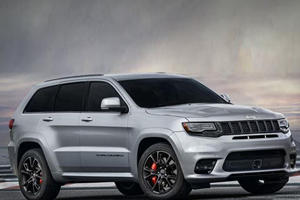 The 707-HP Jeep Grand Cherokee Trackhawk Will Debut Next Week