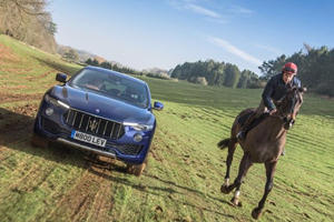 Watch A Maserati Levante Race A Horse For No Particular Good Reason