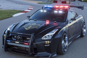 If You See This Nissan GT-R Cop Car In Your Rear View, Be Afraid