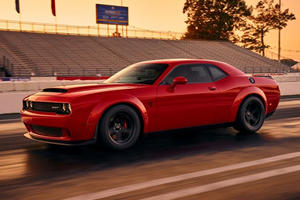 This Is The First Official Photo Of The Dodge Challenger SRT Demon