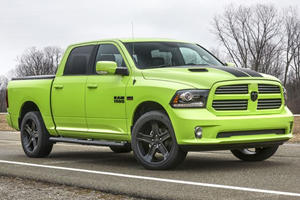 Ram 1500 Sublime Sport And Ram Rebel Blue Streak Bring Color To NYC