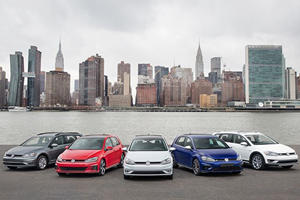 Volkswagen Debuts A Refreshed 2018 Golf Family In New York
