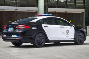 Ford Reveals First Pursuit-Rated Hybrid Cop Car Based On The Fusion
