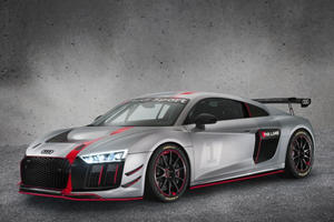 The Audi R8 LMS GT4 Is A Track Version Of The Street-Legal R8 V10