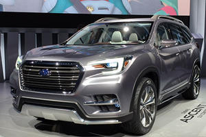 Production-Bound Subaru Ascent Rises To The Occasion In New York