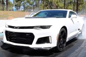 Chevy Camaro ZL1 Straight From The Dealership Runs 9 Second Quarter Mile