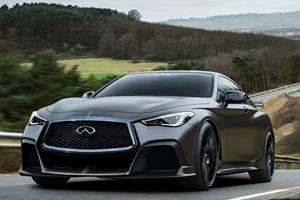Infiniti Building 500-HP BMW M4 And Mercedes-AMG C63 Fighter