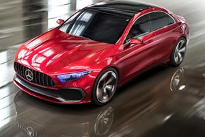 Mercedes-Benz Concept A Sedan Previews Sleek New Design Direction