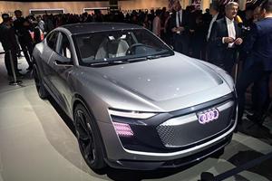 All-Electric Audi Sportback E-Tron Bows In Shanghai