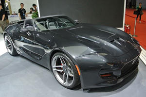 VLF F1 Roadster Screams Into Shanghai With 745 HP