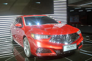 Acura TLX Debuts Long Wheelbase Version Prototype In Shanghai