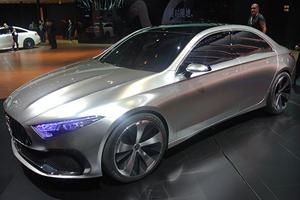 Mercedes Sedan A Concept Bows In Shanghai, Hints At Next-Gen CLA