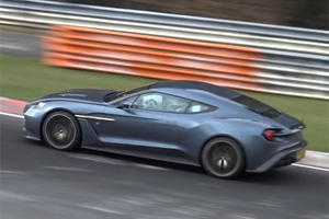 Enjoy Every Moment Of This Aston Martin Vanquish Zagato At The Ring