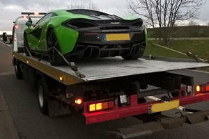 UK Police Seize Three Supercars For Racing On The Highway