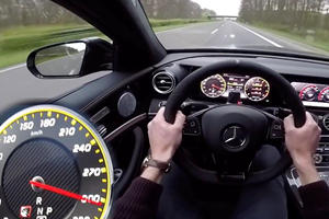 How Is The Mercedes-AMG E63 S So Shockingly Smooth When Near 200 MPH