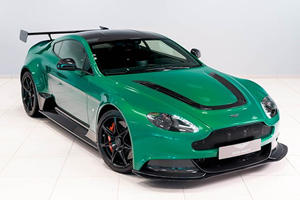 This One-Off Aston Martin Vantage GT12 Is Mean And Green