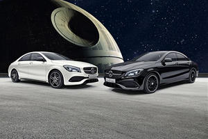 Limited Edition Mercedes CLA Star Wars Edition Unveiled For Japan