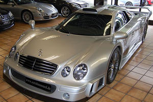This Rare Street-Legal Mercedes CLK GT Costs More Than The Project One