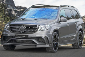 Mansory Turns Mercedes-AMG GLS63 Into 830-HP Monster