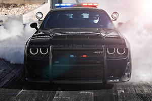 There's No Escaping This Dodge Demon Cop Car