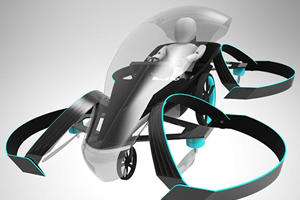 Toyota Is Making A Flying Car To Light The Olympic Torch