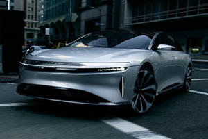 Ultra-Luxurious Lucid Air To Take On Audi, BMW And Mercedes