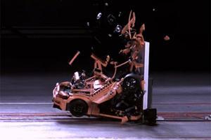 This Is What Happens When You Crash Test A Lego Porsche 911 GT3 RS