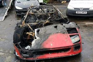 Saddam Hussein Punished His Son By Burning Down His Supercar Collection