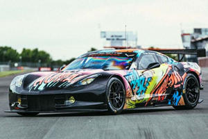 Look What A French Street Artist Did To This Corvette C7.R